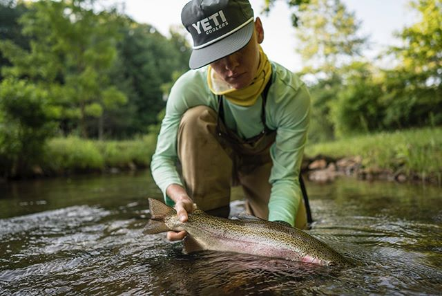 @truett_maund doin work Summer 2019. Always a blast fishing him + pops. Hope you are well brother and living right in that college life. #flyshopco #flyfishing #troutcapital #craftedforchaos #builtforthewild #ctsfishing #cortlandline