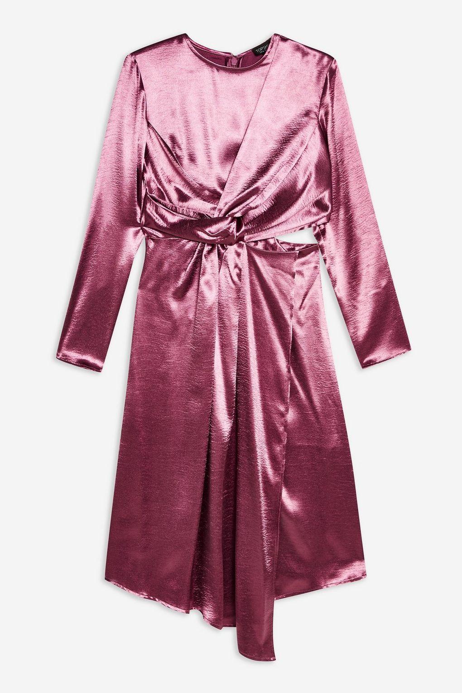 Twist Cut-out Midi Dress
