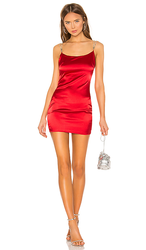 Tijana Rhinenstone Strap Dress  @REVOLVE