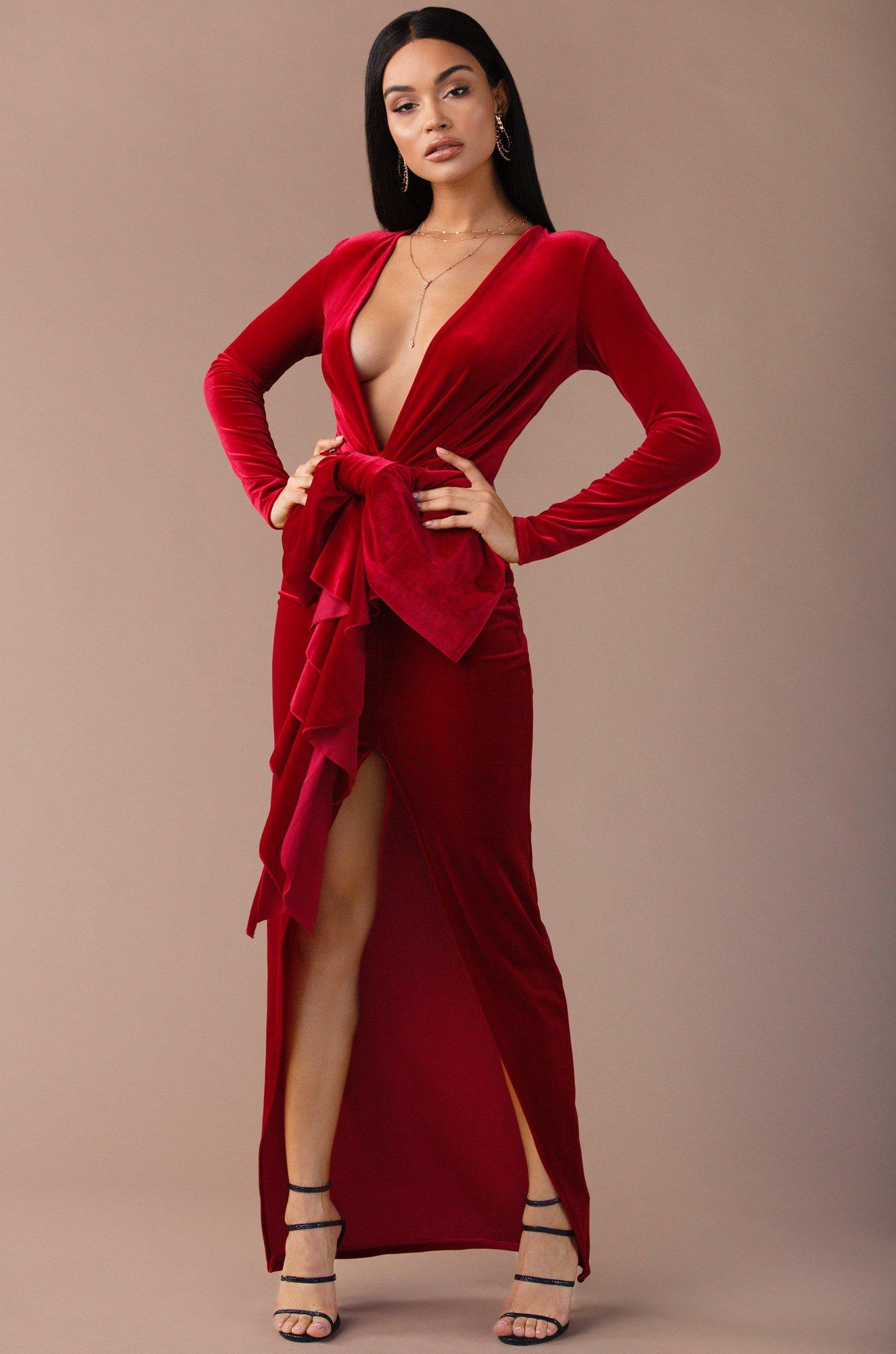 When We Touch - Red Dress Found @MissLola