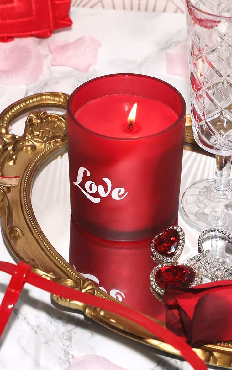 PAPERCHASE LOVE BOXED CANDLE