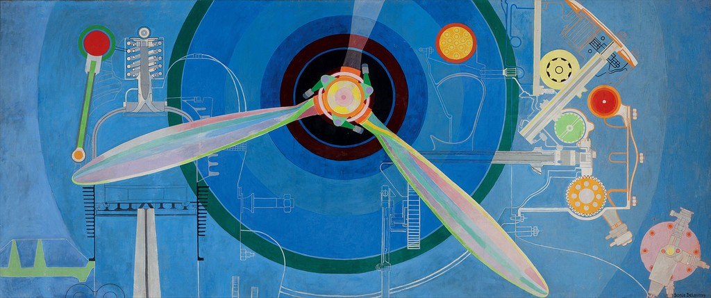 "Propeller (Air Pavilion) , 1937    ""The EY Exhibition: Sonia Delaunay"" at Tate Modern, London (2015)"