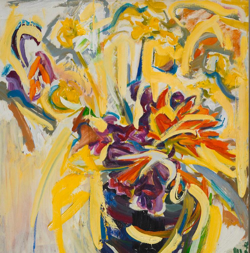 Sudden Sun,   c. 1958 , oil on canvas, 30 x 28 inches