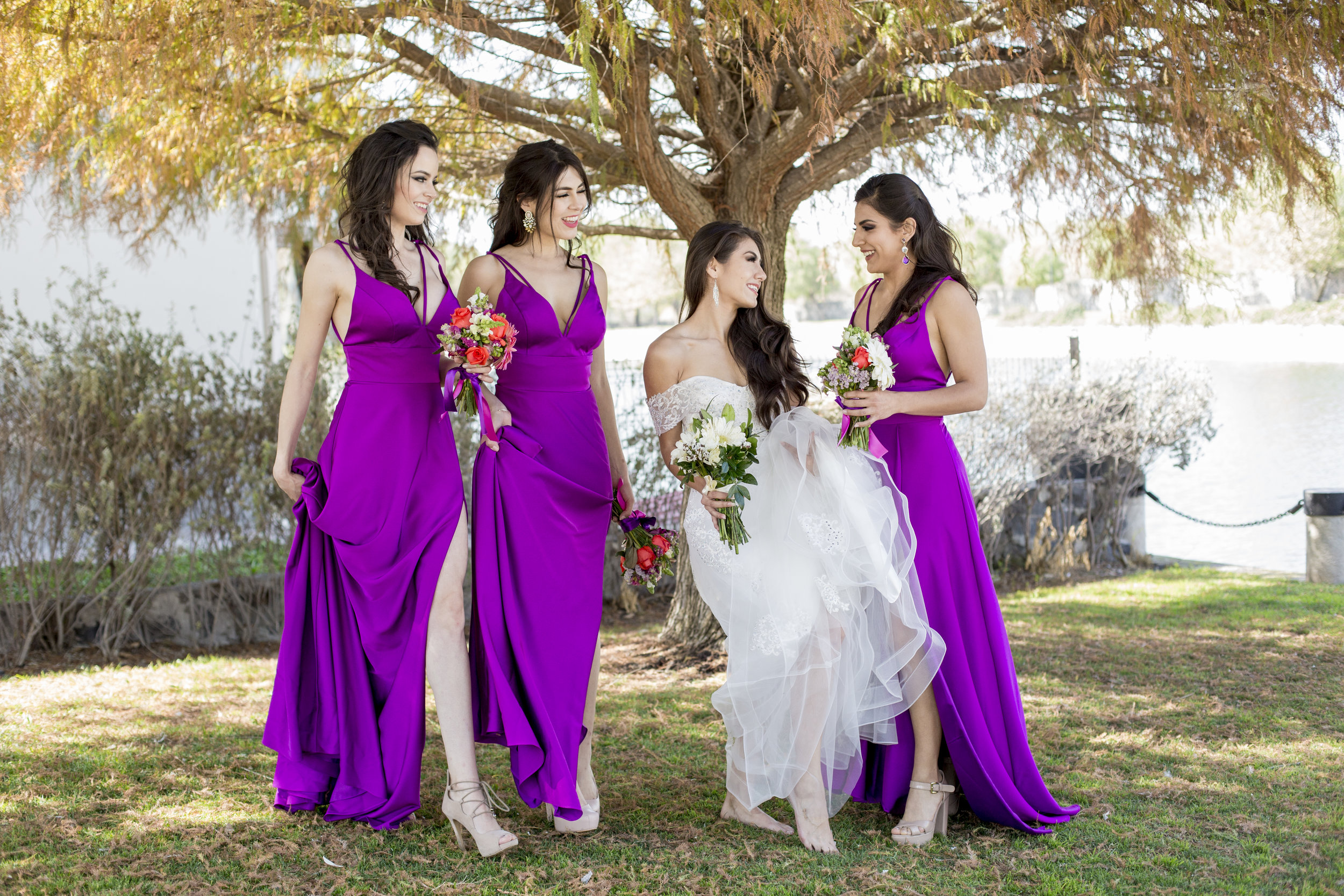 BRIDESMAIDS / NOVIA Y DAMAS DE HONOR