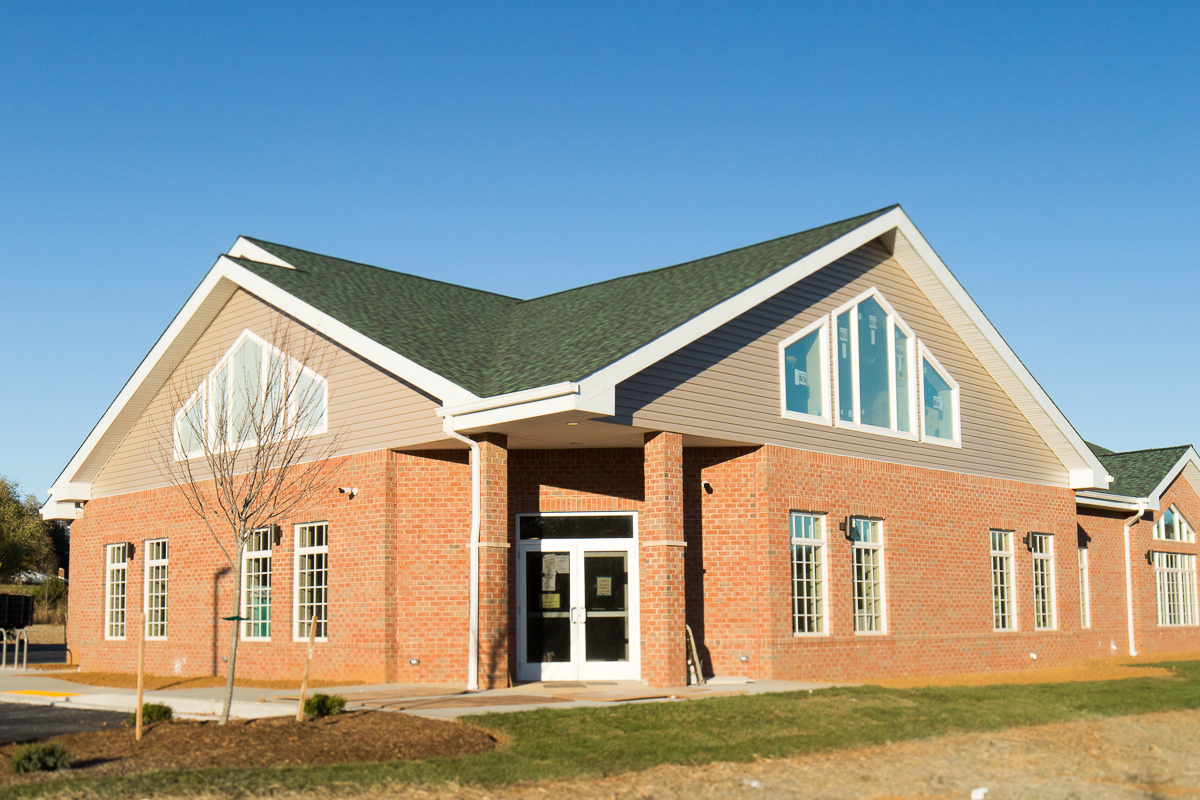 Exterior of Jefferson Veterinary Hospital, located in Frederick County, MD