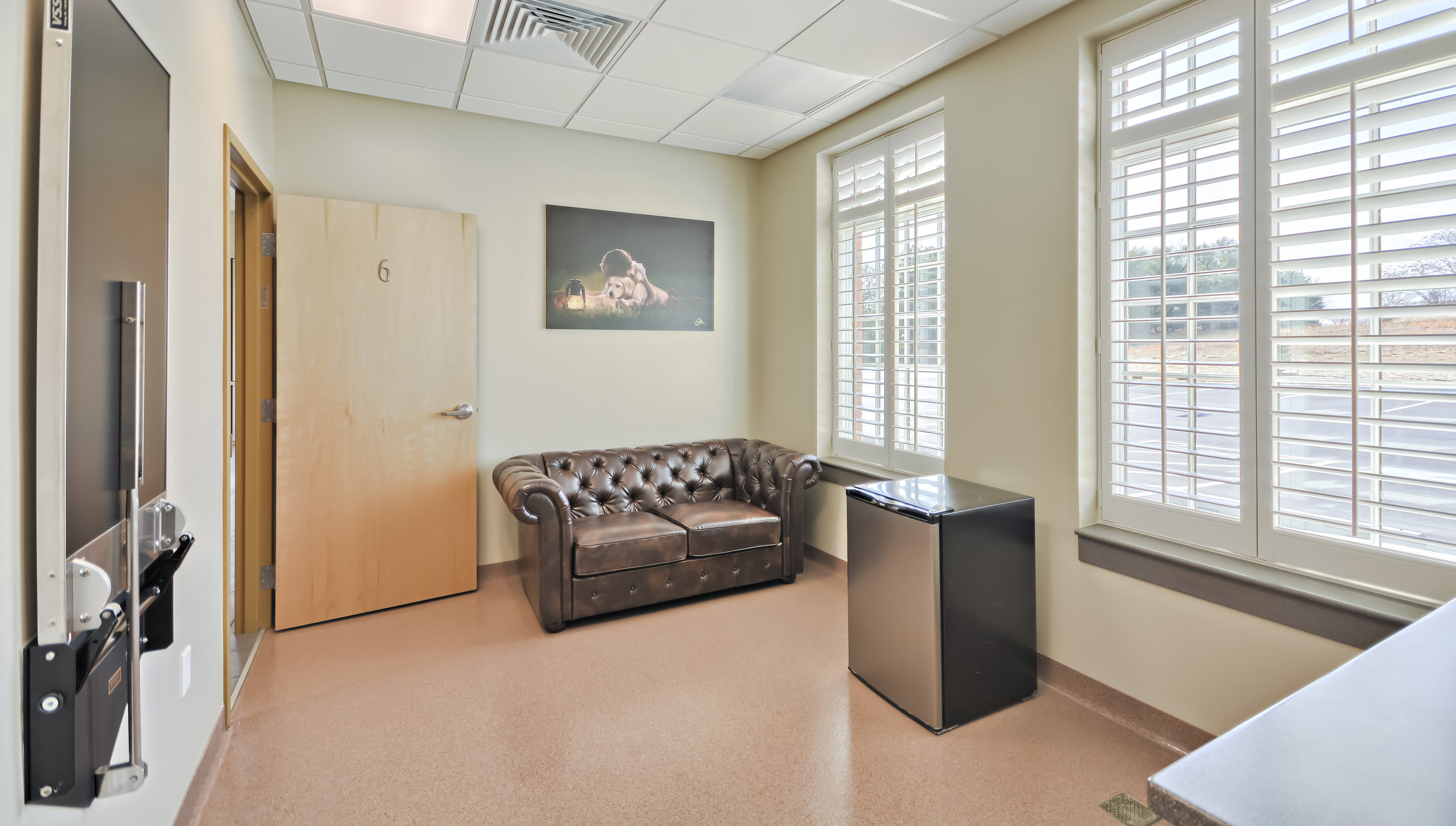 bereavement room for pets at jefferson veterinarian hospital frederick md