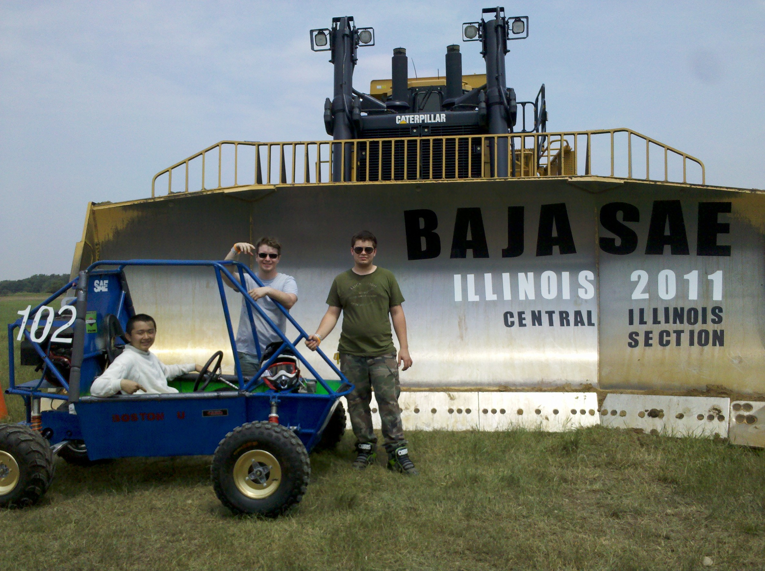 The 2011 BU Baja Team