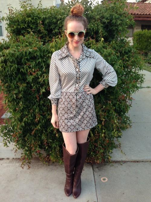 New Dress A Day - vintage 60s dress