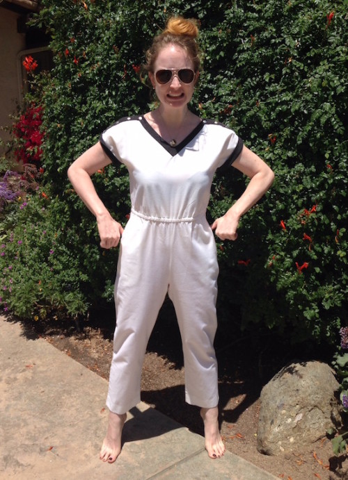 Vintage jumpsuit - New Dress A Day