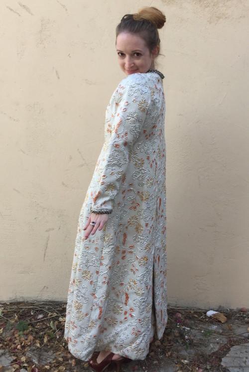 New Dress A Day - Metallic Dress