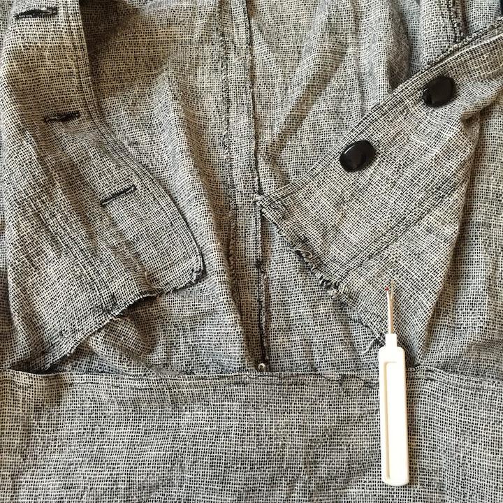 Vintage Tweed Dress - 5