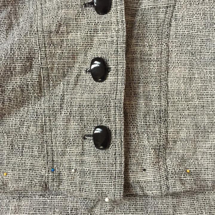 Vintage Tweed Dress - 7