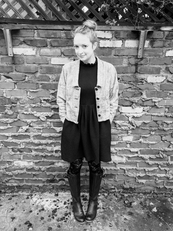 Vintage Tweed Dress - 10