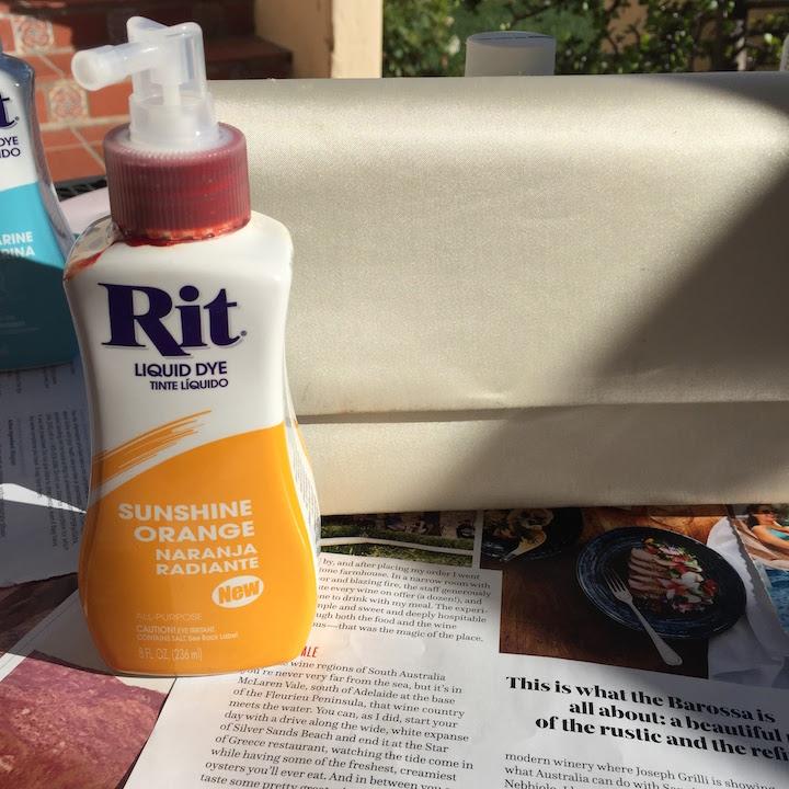 Sunshine Orange Rit Dye
