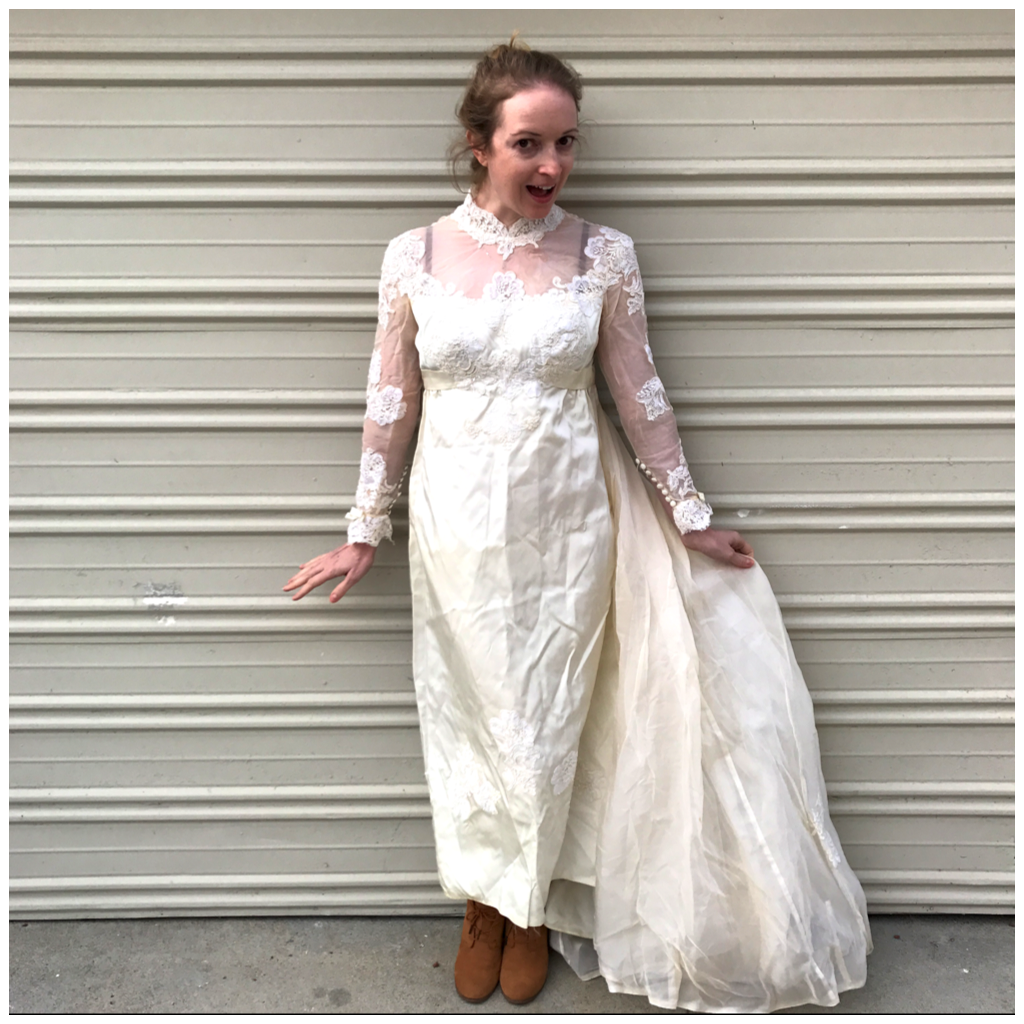 NDAD Vintage Wedding Dress - 1