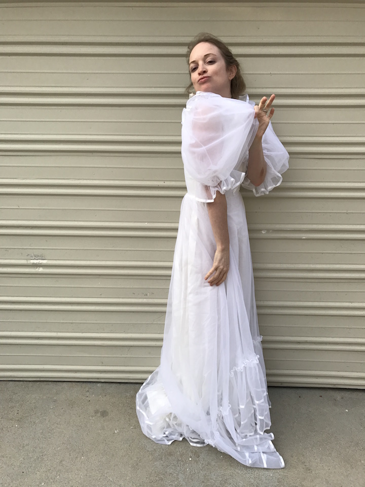 NDAD Vintage Wedding Dress - 2