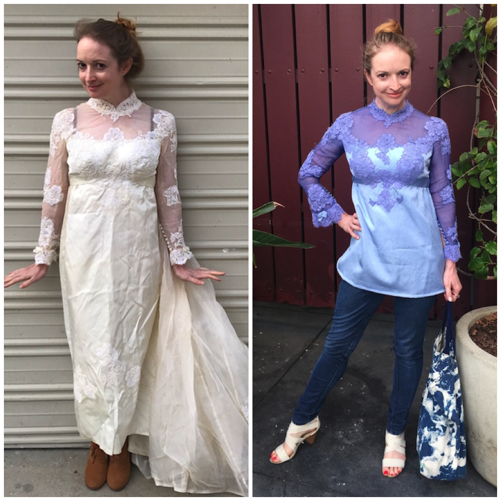 NDAD - Day 30 - Before & After Vintage Dress