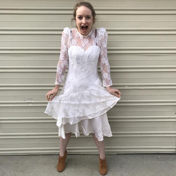 NDAD - Day 29 - Vintage Wedding Dress 4