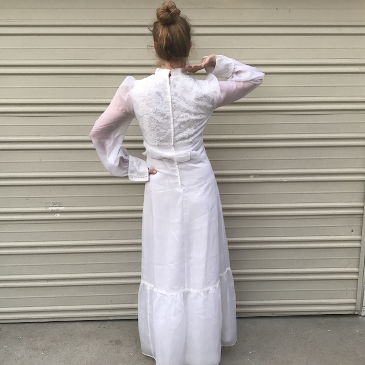 NDAD - Day 28 - Vintage Wedding Dress 3