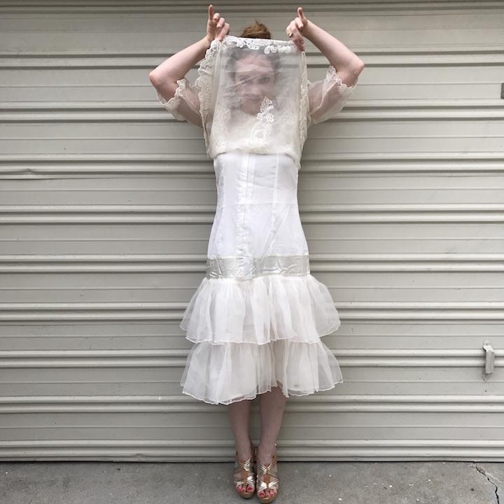 NDAD - Day 27 - Vintage Wedding Dress 4