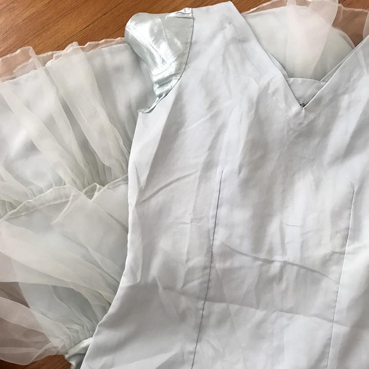 NDAD - Day 27 - Vintage Wedding Dress