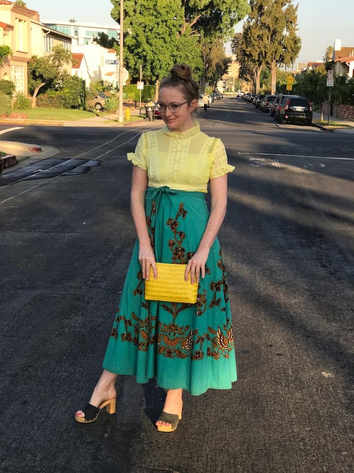NDAD - Day 26 - Dyed Vintage Dress 3