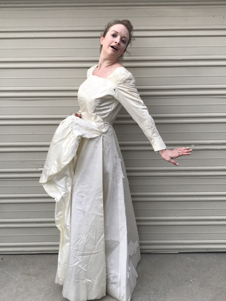 NDAD - Day 25 - Vintage Wedding Dress 2