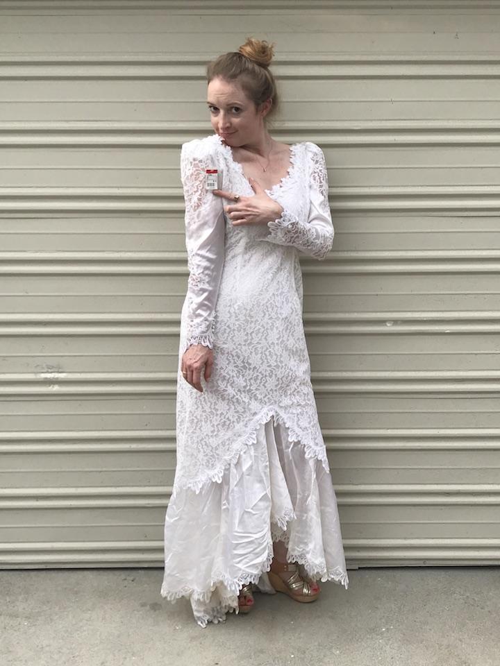 NDAD - Day 24 - Vintage Wedding Dress 2