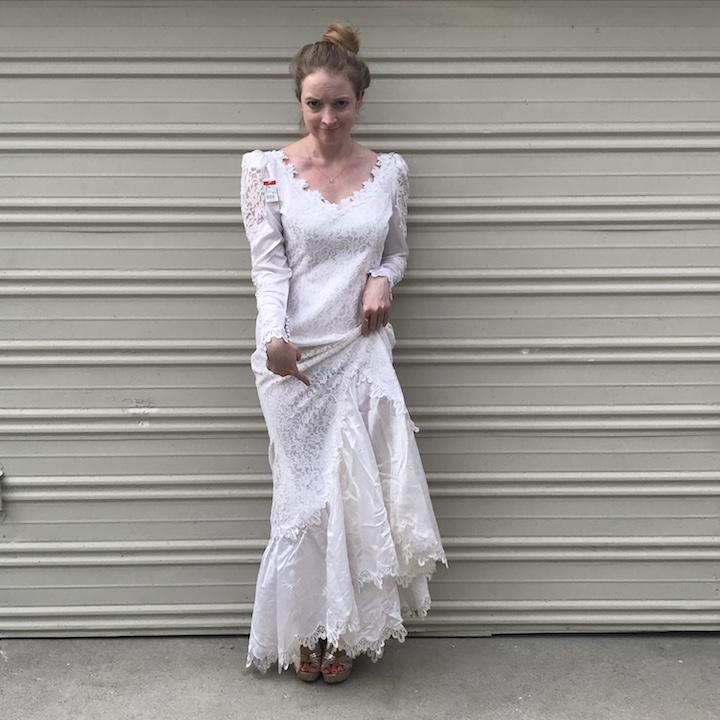 NDAD - Day 24 - Vintage Wedding Dress 4