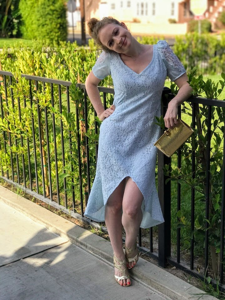 NDAD - Day 24 - Dyed Vintage Upcycled Wedding Dress 2