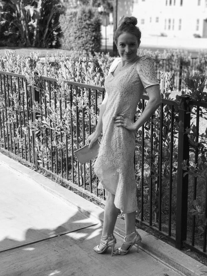 NDAD - Day 24 - Dyed Vintage Upcycled Wedding Dress 7