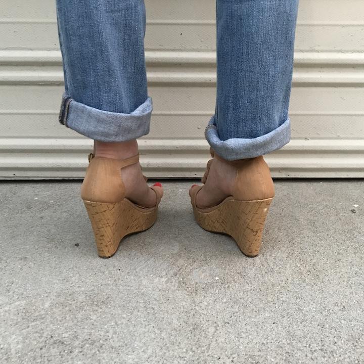 NDAD - Day 23 - Wedding Shoes DIY 4