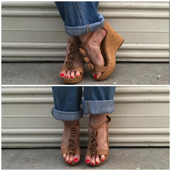 NDAD - Day 23 - Wedding Shoes DIY 5
