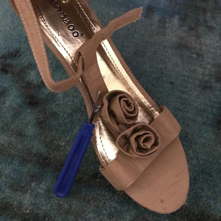 NDAD - Day 23 - DIY Wedding Shoes 6