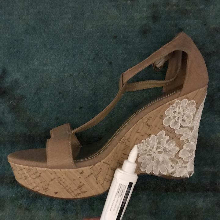 NDAD - Day 23 - DIY Wedding Shoes 7