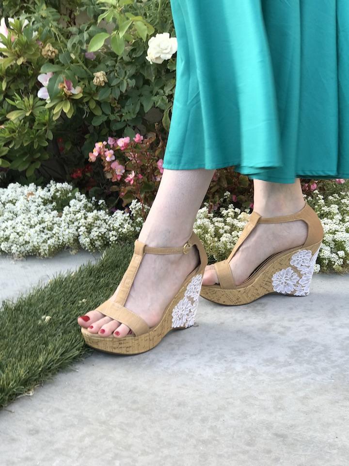 NDAD - Day 23 - DIY Wedding Shoes 10