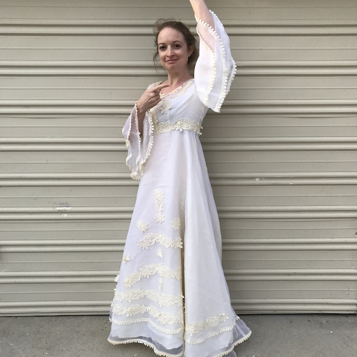 NDAD - Day 22 - Vintage Wedding Dress 3