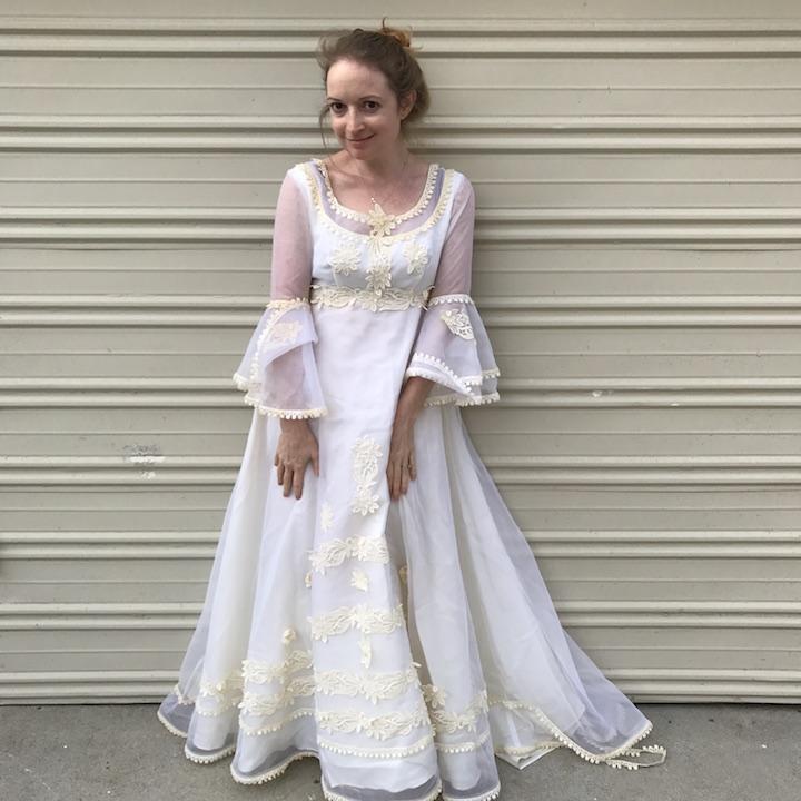 NDAD - Day 22 - Vintage Wedding Dress 2