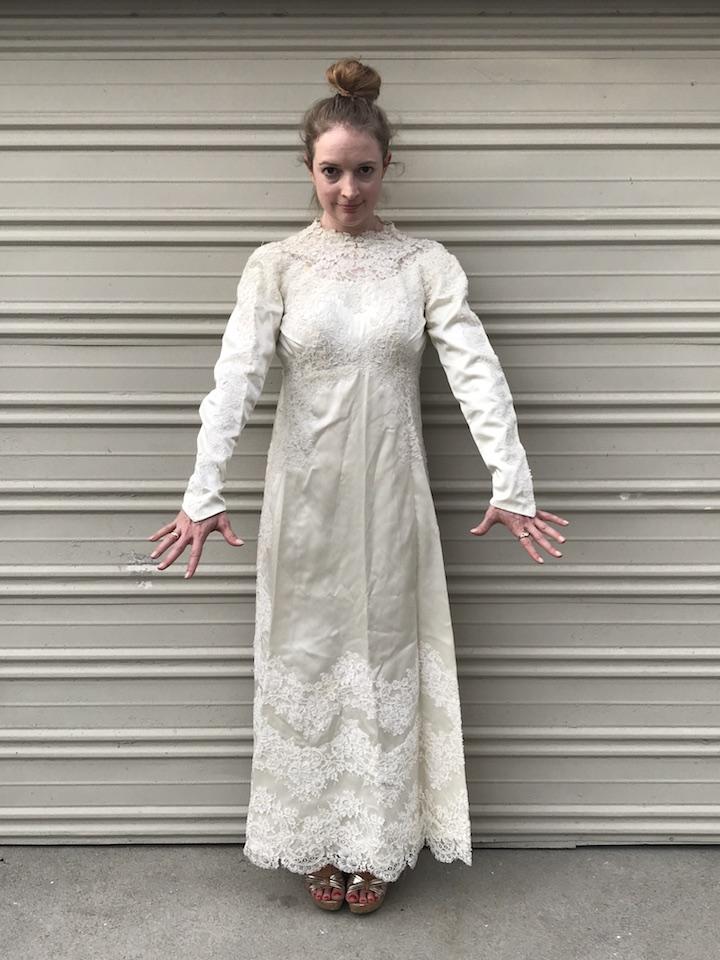 NDAD - Day 20 - Vintage Wedding Dress