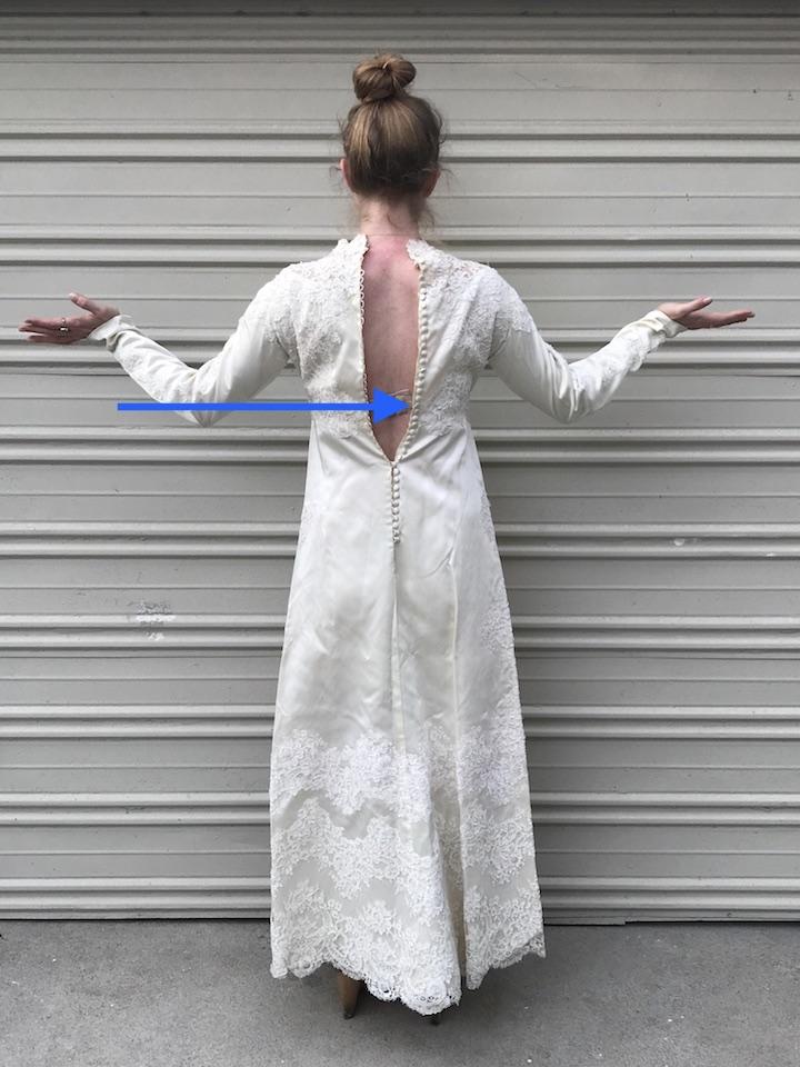 NDAD - Day 20 - Vintage Wedding Dress 3