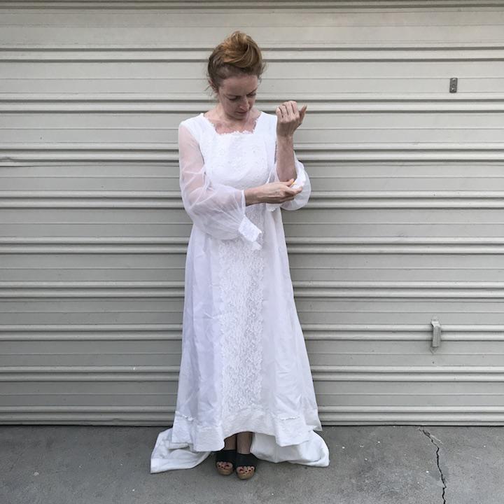 NDAD - Day 18 - Vintage Wedding Dress 2