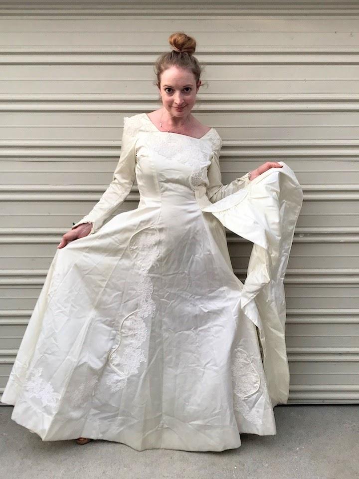 NDAD - Day 17 - Vintage Wedding Dress 2