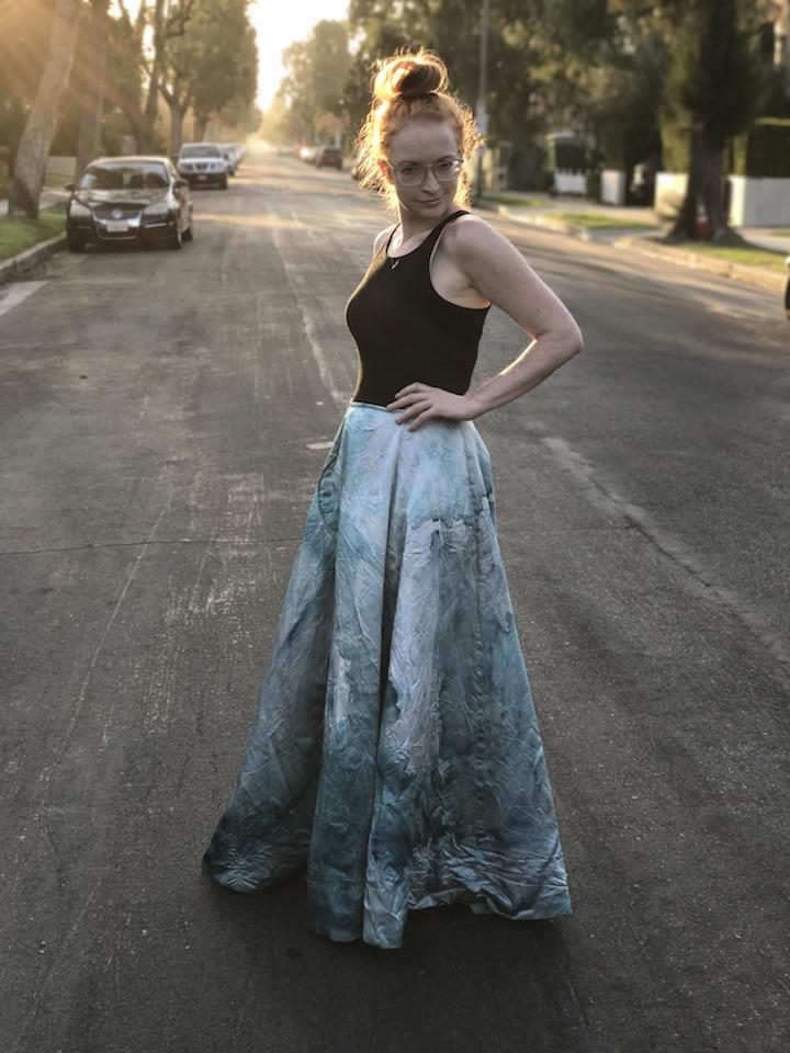 NDAD - Day 17 - Upcycled Wedding Dress