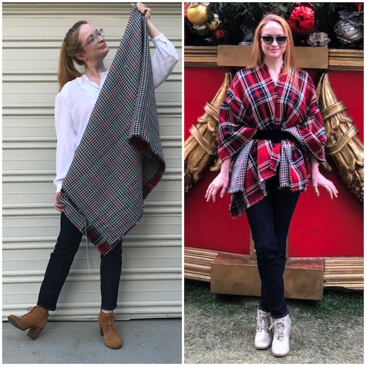 Before/After Poncho