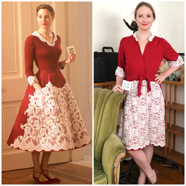 Phantom Thread Dress - Before/After