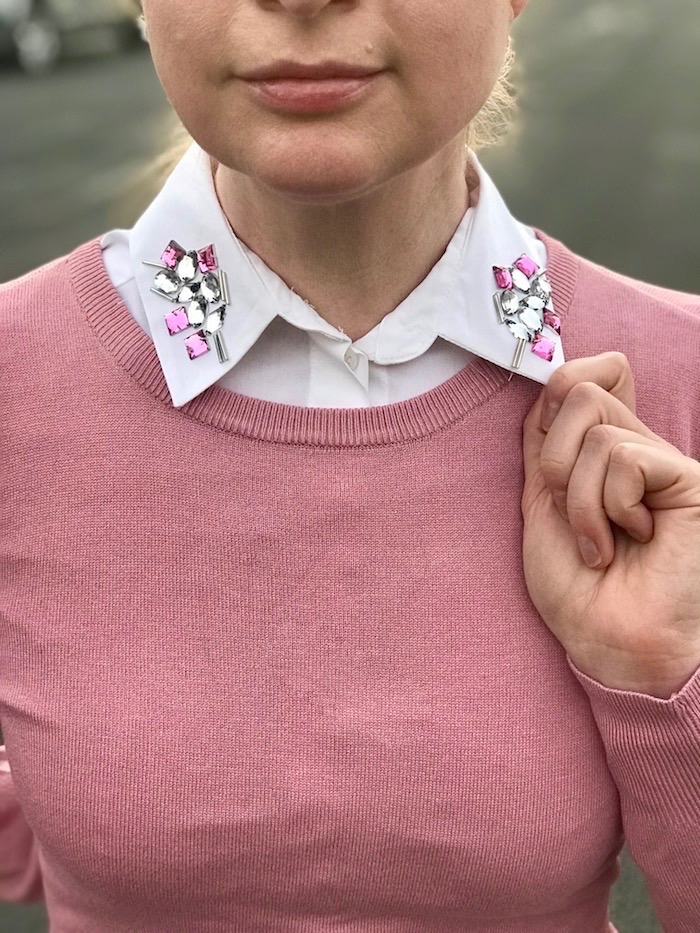Riverdale Betty Embellished Collar DIY