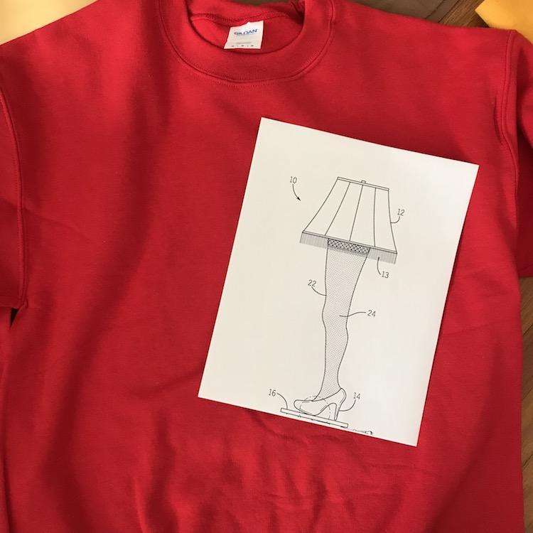 Diy A Christmas Story Inspired Ugly Sweatshirt New