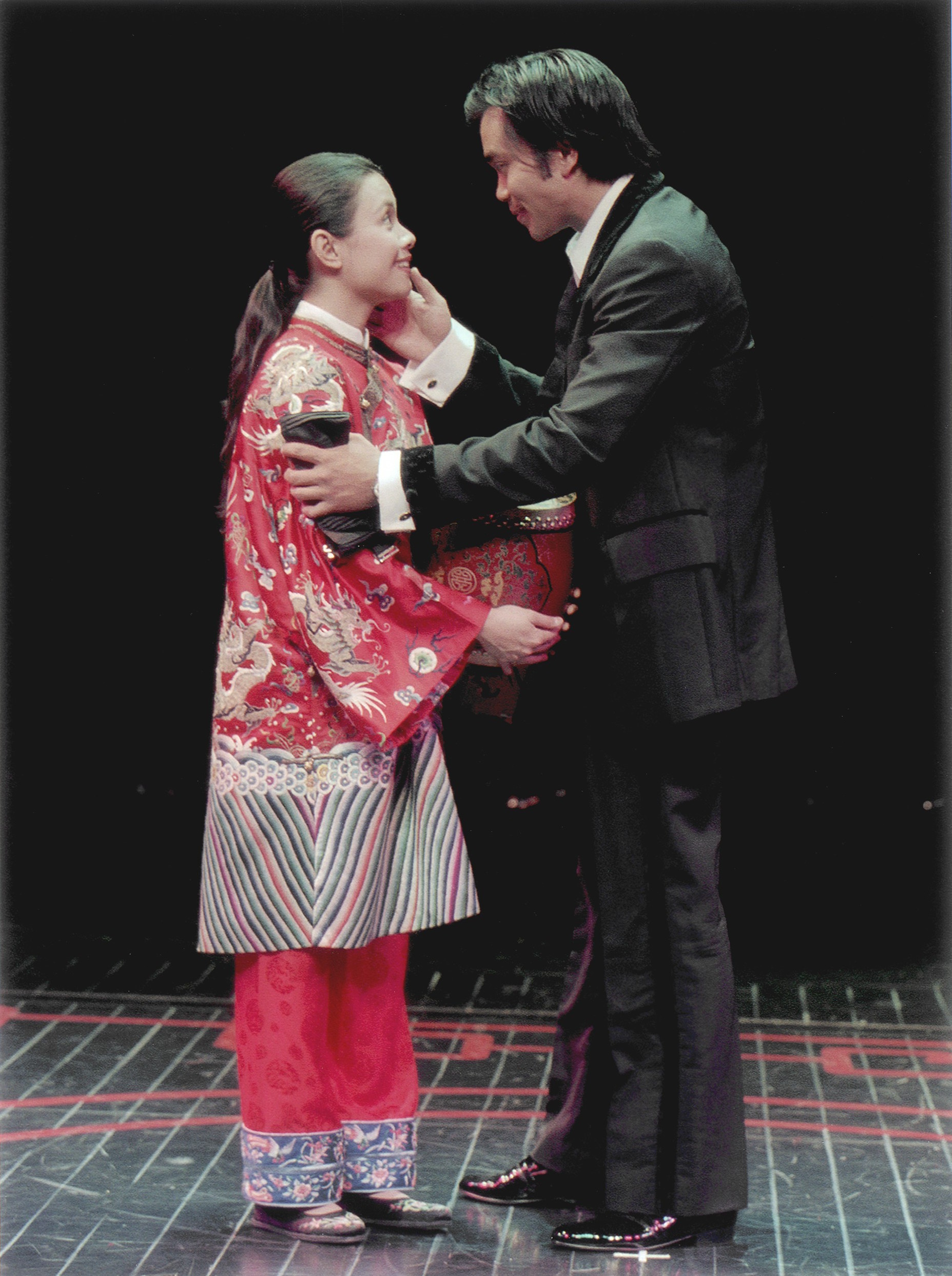 Lea Salonga and Jose Llana. Photo by Craig Schwartz for the Mark Taper Forum, 2001