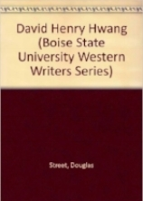 David Henry Hwang (Boise State University Western Writers Series) .jpg