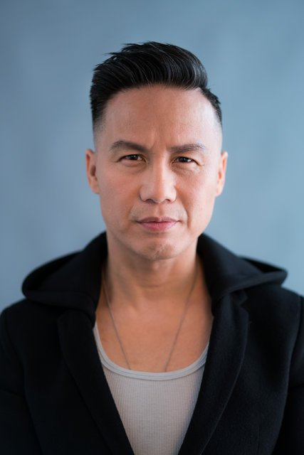 """BD Wong in 2016, 28 years after his Broadway breakout in """"M. Butterfly.""""CreditTodd Heisler/The New York Times"""